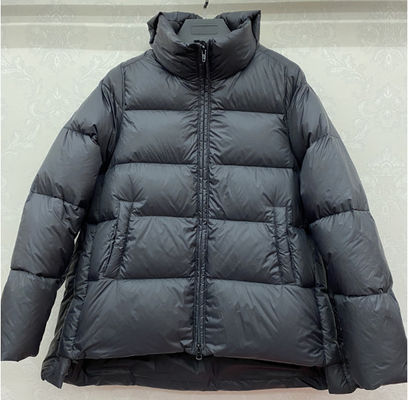 Womens Winter quilting coat polyester fabric with padded jacket womens loose